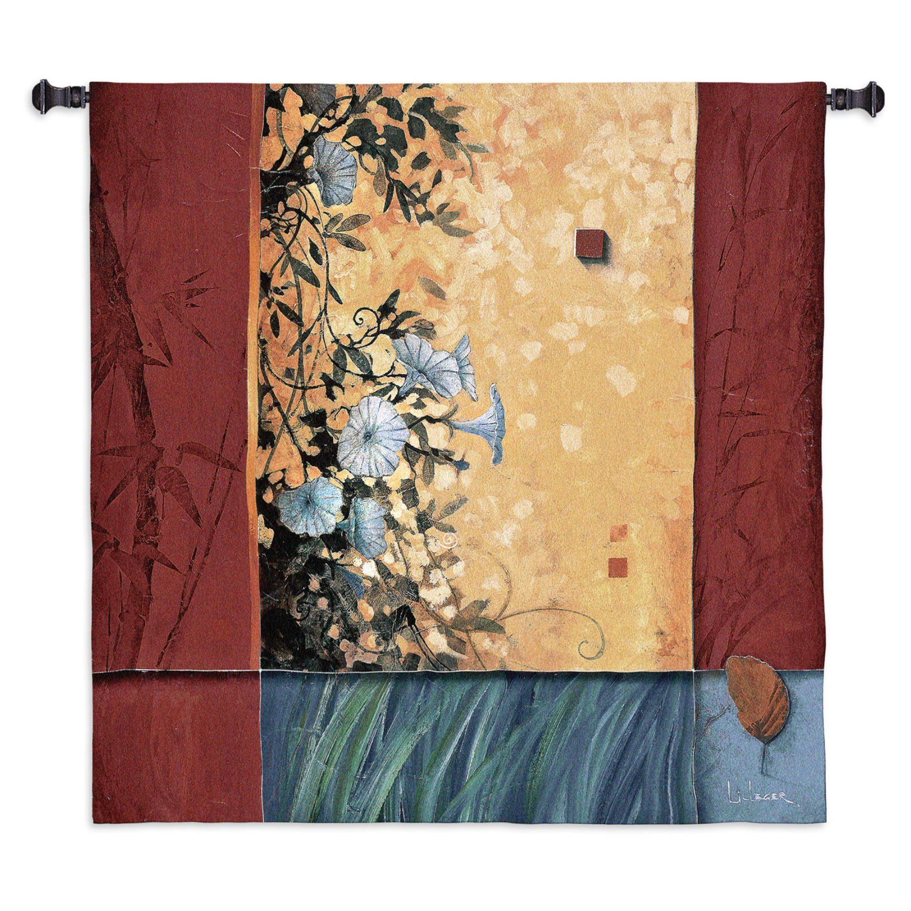 Fine Art Tapestries Artists Garden Wall Tapestry - 3059-WH | Wall ...