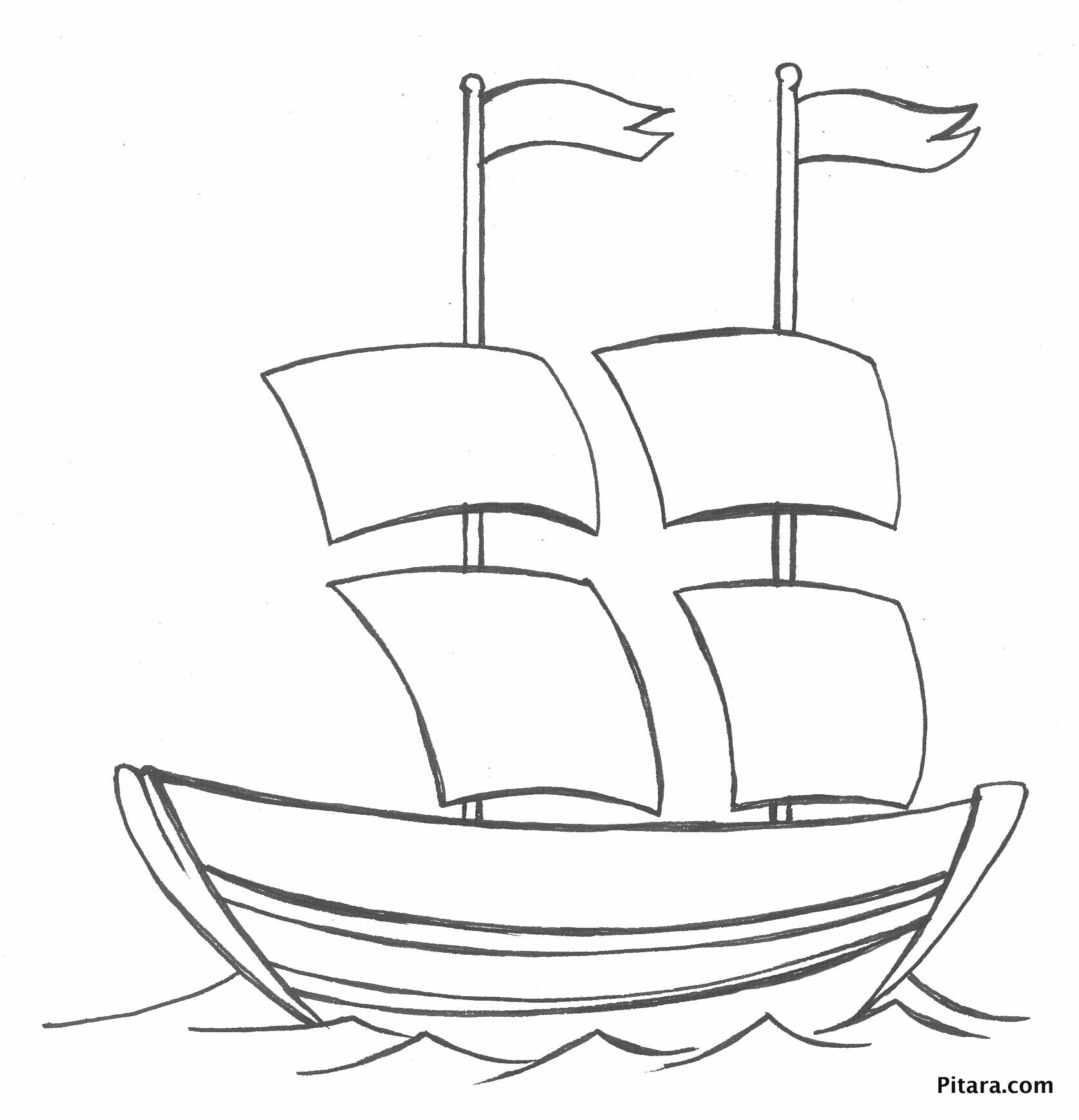 Water Transport Coloring Pages
