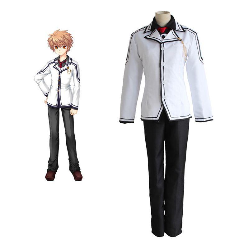 Anime rewrite tennouji kotarou cosplay costumes school boy