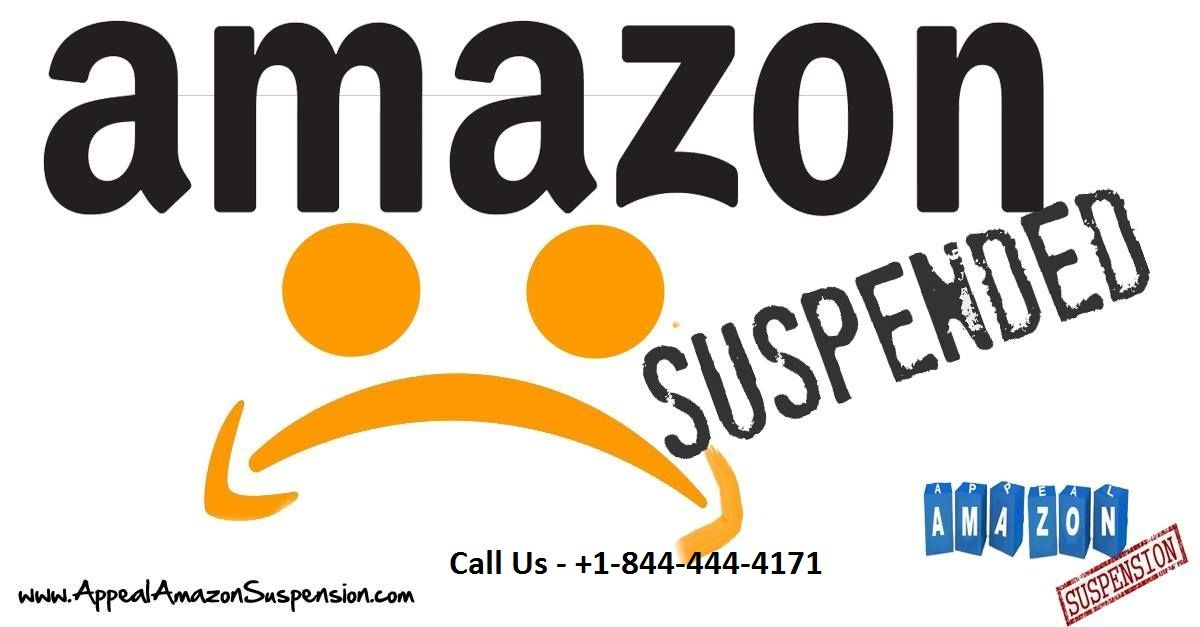 We provide Amazon Account Suspended Appeal +1-844-444-4171 for