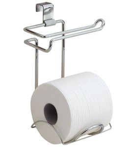 The Over Tank Tissue Holder Provides Extra Toilet Paper Storage And Keeps  All Your Toliet Paper