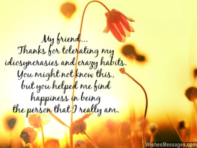 thank you messages for friends quotes and notes friendship