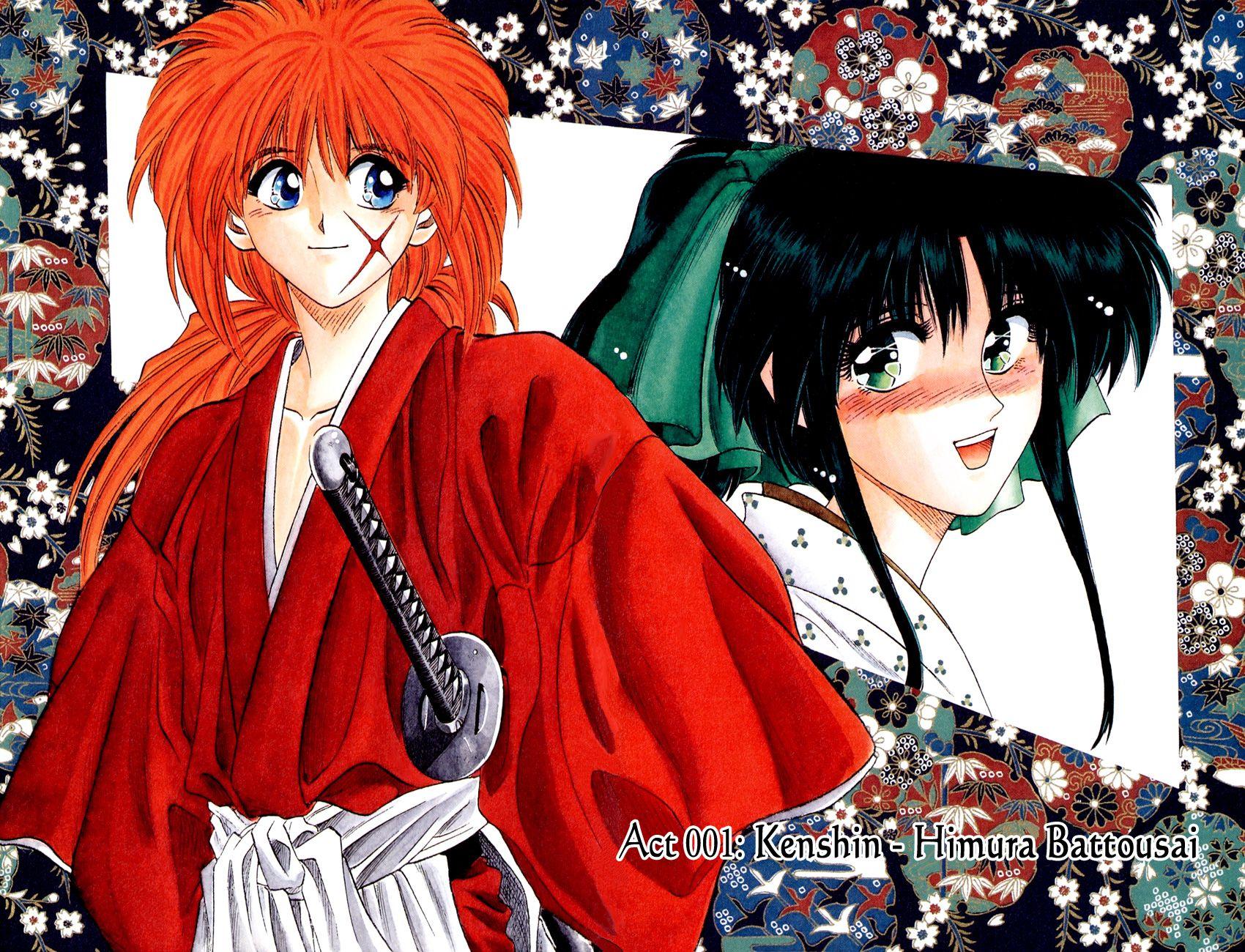 Kenshin and Koaru Rurouni kenshin, Samurai, Anime