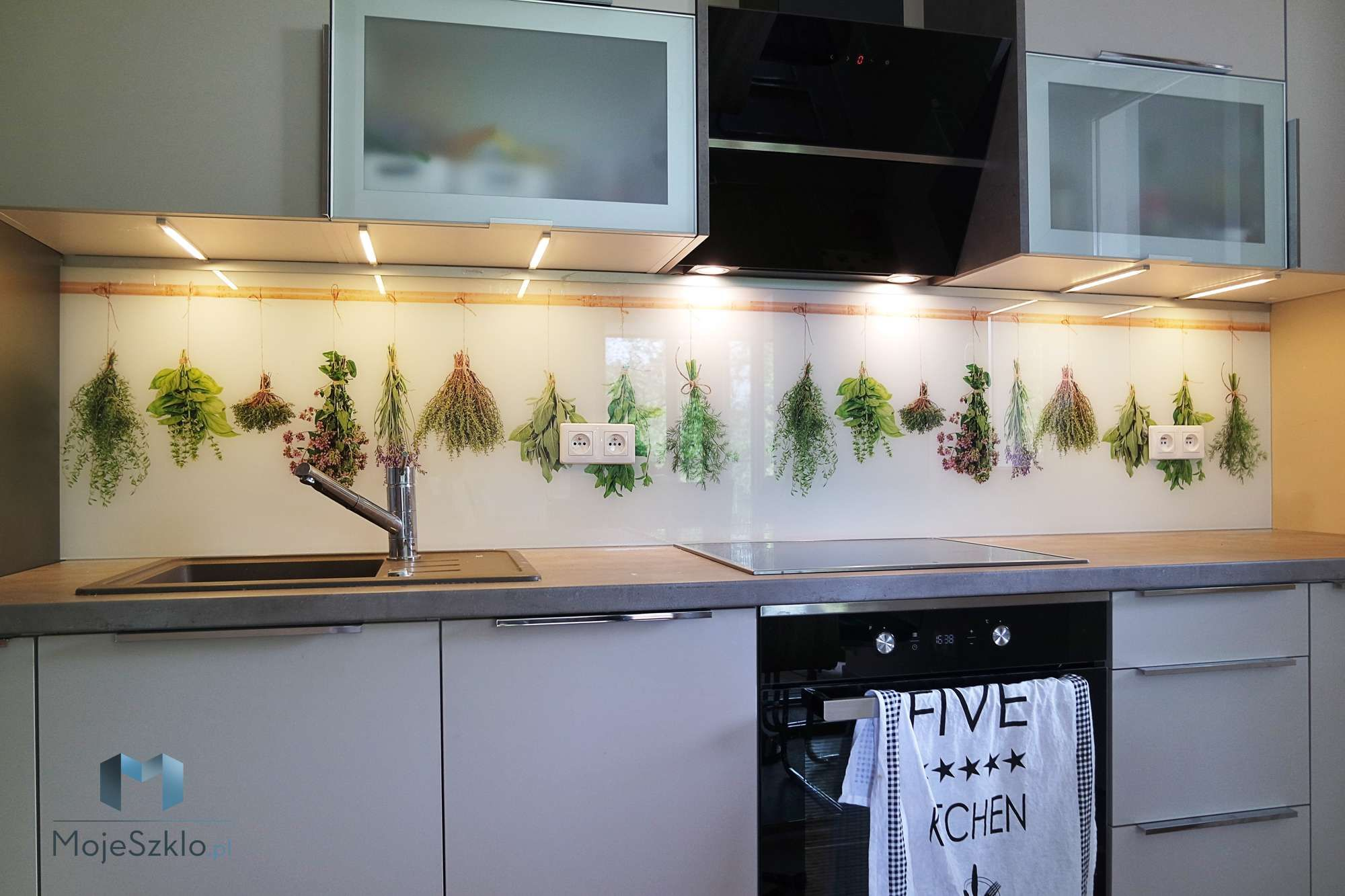Szklany Panel Ziola Home Decor Decor Hoop Wreath