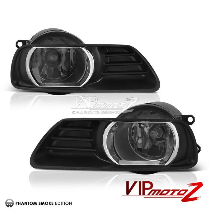 07 09 Smoke Camry Fog Lights Driving Lamp Replacement Set W Switch Bulbs Harness Vipmotoz Camry Toyota Camry Toyota