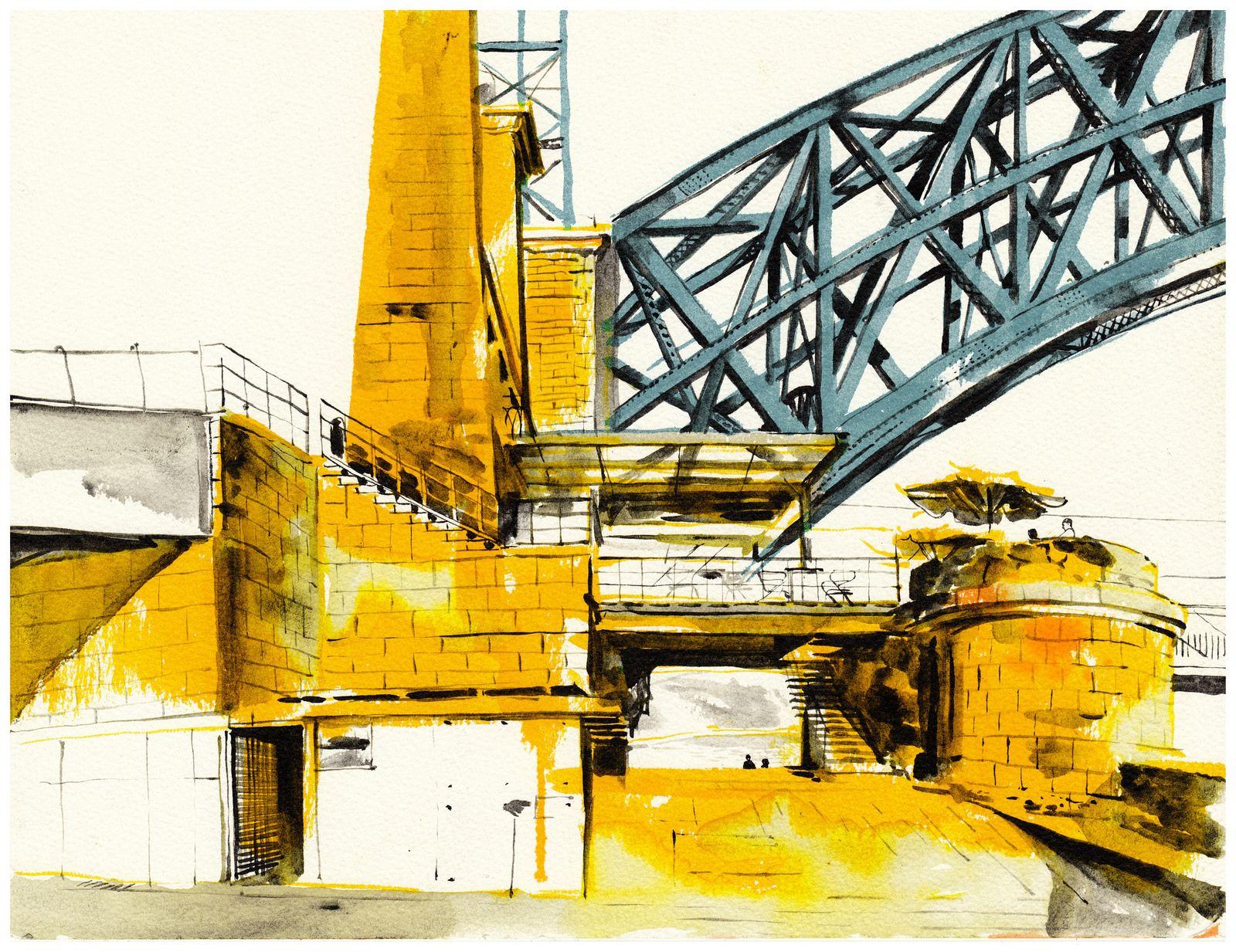 Luís I Bridge | by André Carrilho's Sketch Blog