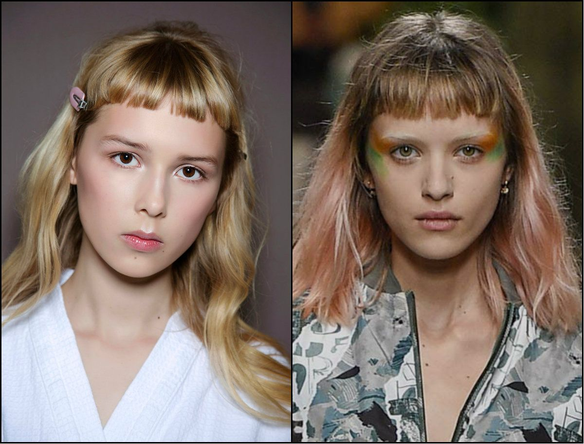 baby bangs hair trends 2017 fall winter 2018 | hair | hair styles