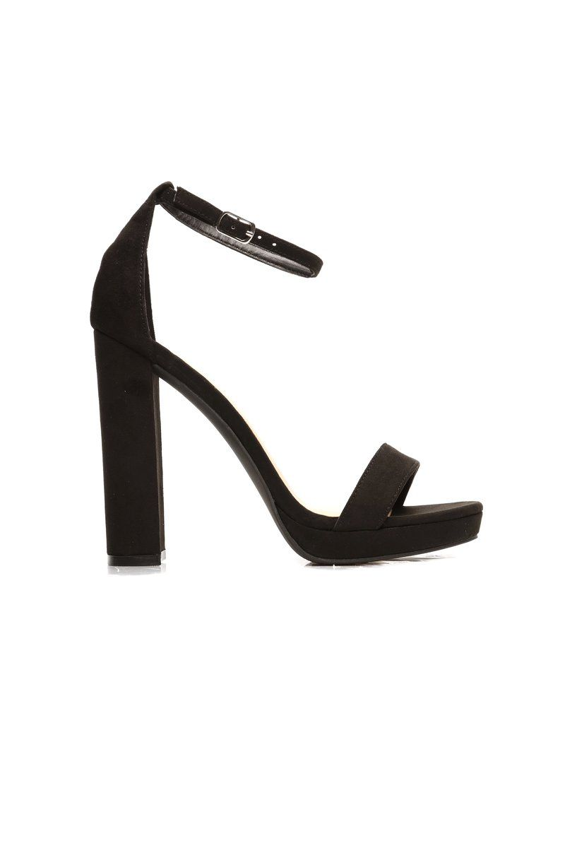 0a56d45e6f8 Your Biggest Fan Heels - Black