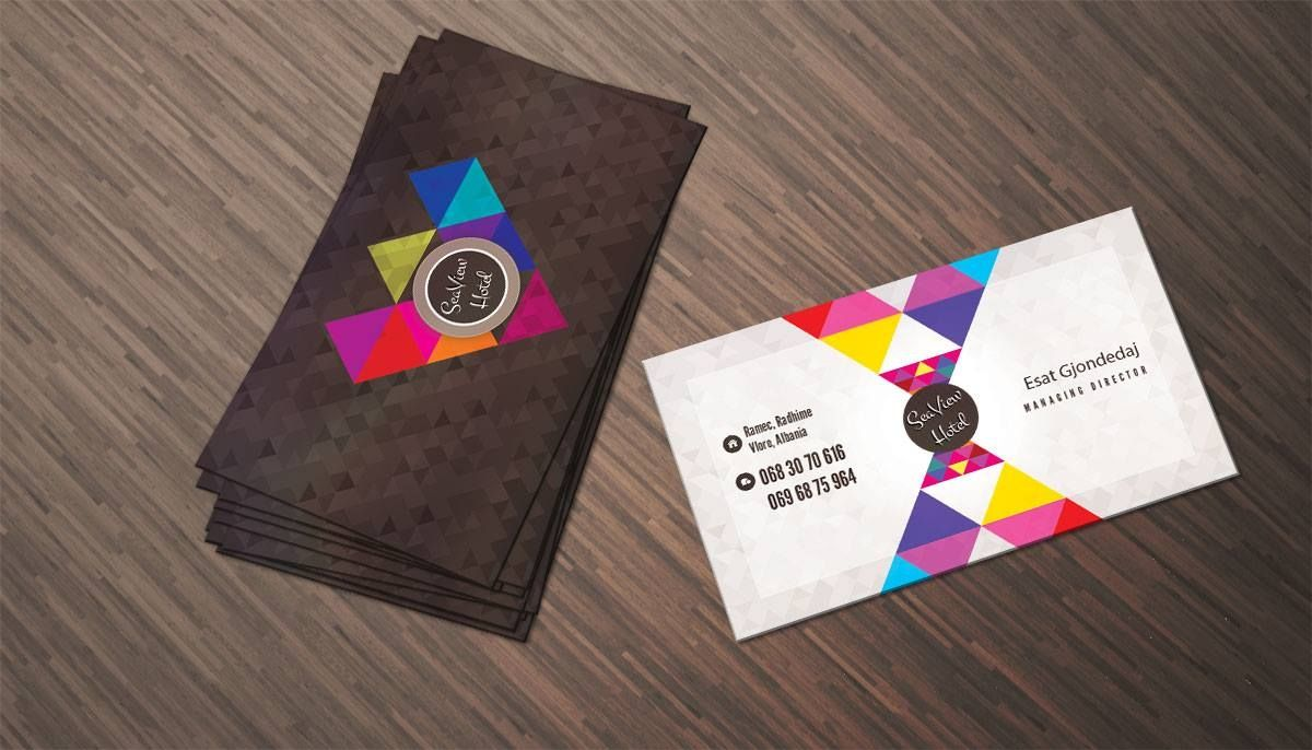 hotel business cards