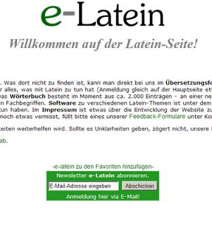 Vorarlberger Bloghaus Universitat E Latein Latein Universitat Bildung