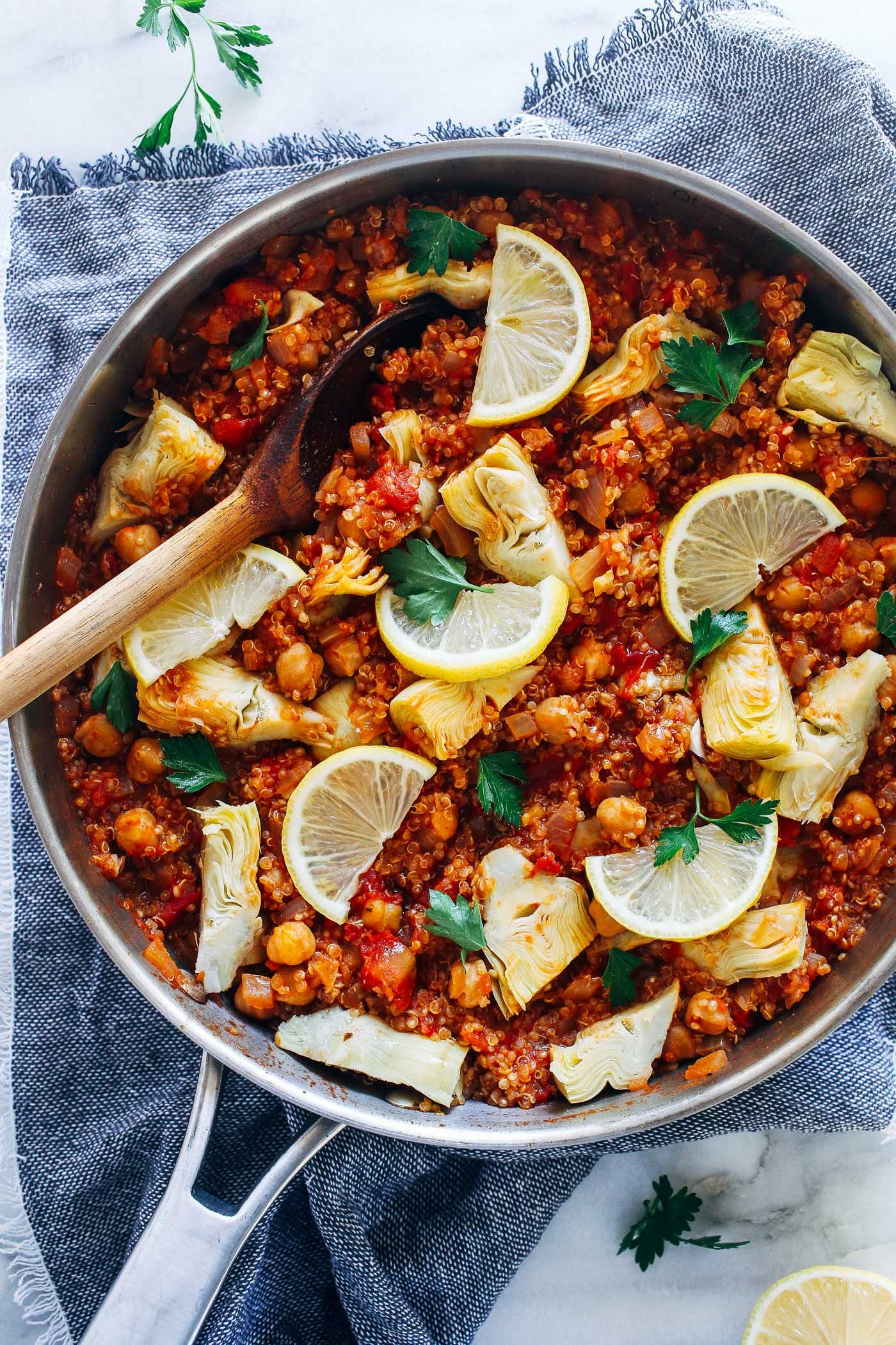 One Pot Spanish Quinoa