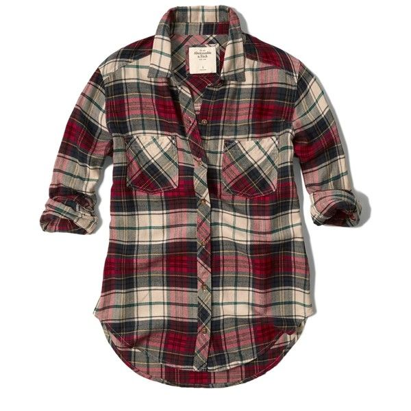 abercrombie and fitch checked shirt