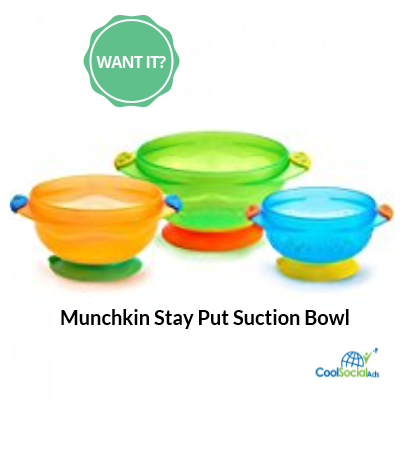 Munchkin Stay Put Suction Bowl for more details visit http ...