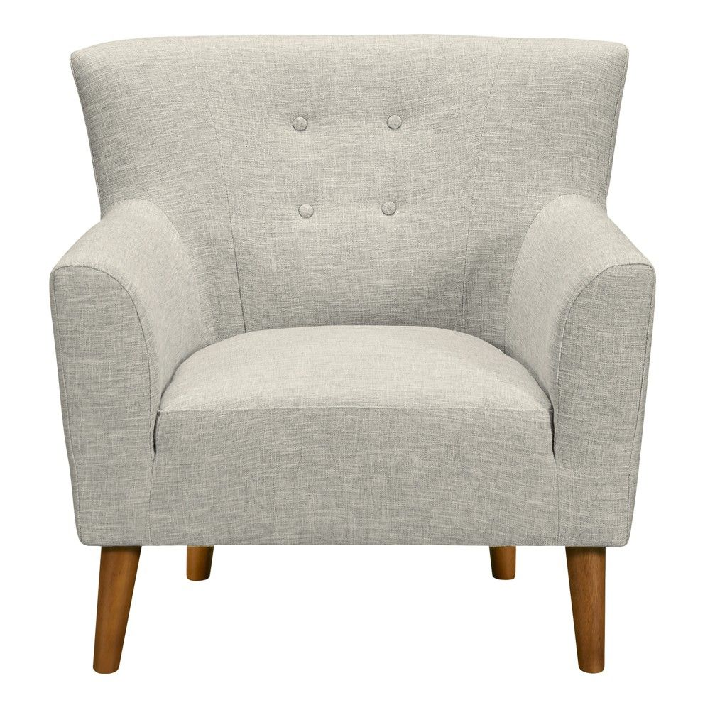 Stupendous Hyland Mid Century Accent Chair Beige Armen Living In 2019 Uwap Interior Chair Design Uwaporg