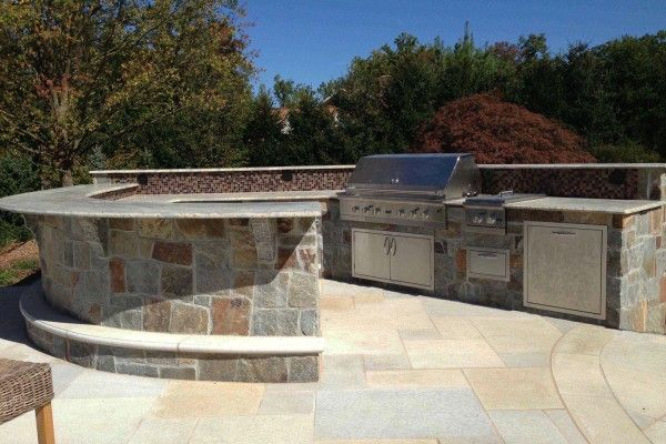 Outdoor Kitchen & Bbq Design & Installation Bergen County Nj Unique How To Design An Outdoor Kitchen Inspiration