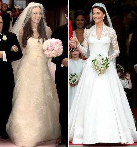 Blair Waldorf And Kate Middleton S Wedding Dress Modern Wedding Dress Wedding Dress Gallery Seattle Wedding Dress