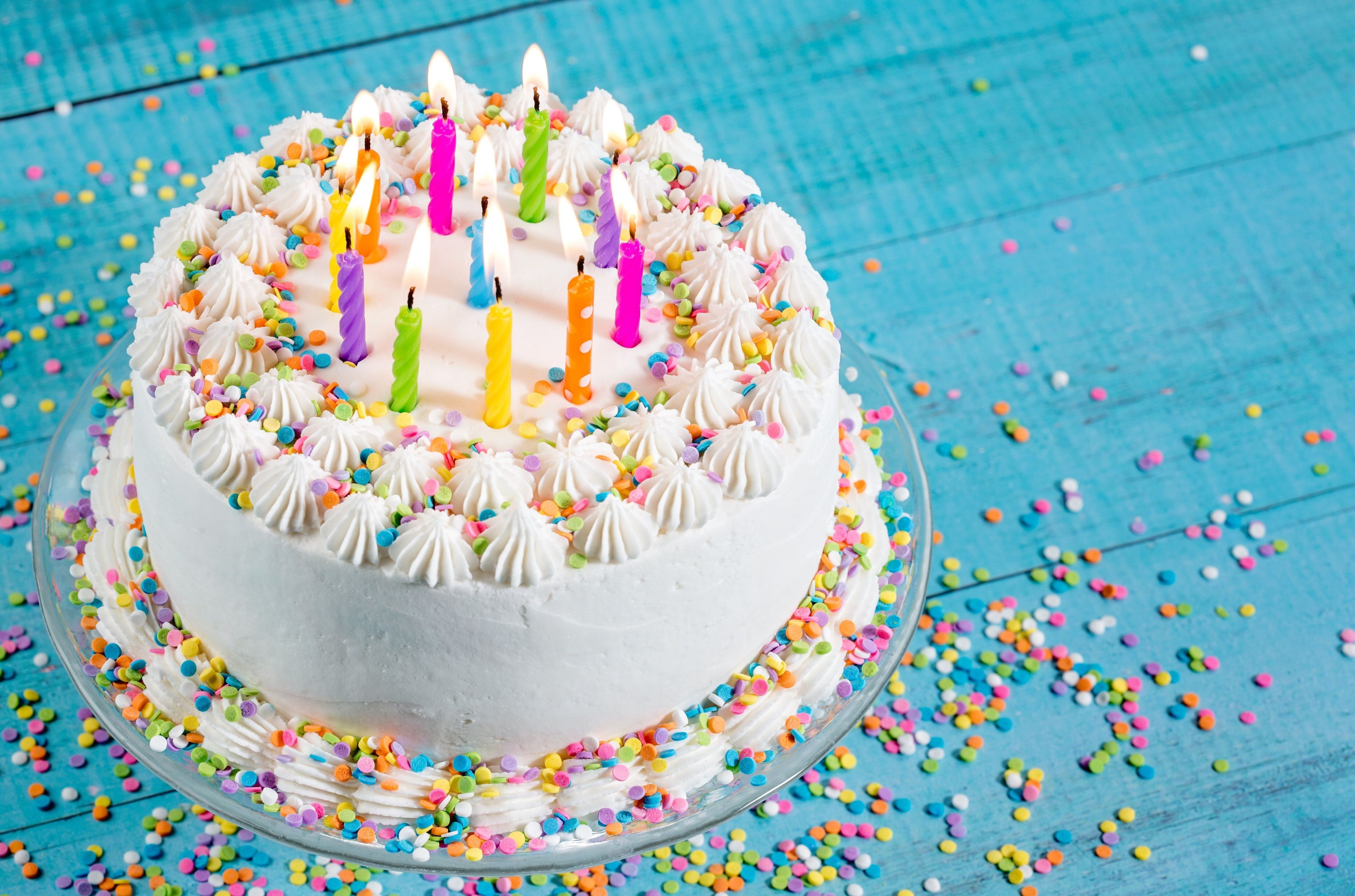 3840x2540 Birthday Cake 4k Hd Background Wallpaper Free Download Birthday Cakes For Teens Birthday Wishes Cake Birthday Cake With Candles