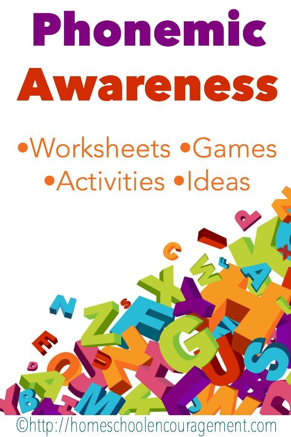 Phonemic Awareness Free Worksheets For Kids Kids Literacy