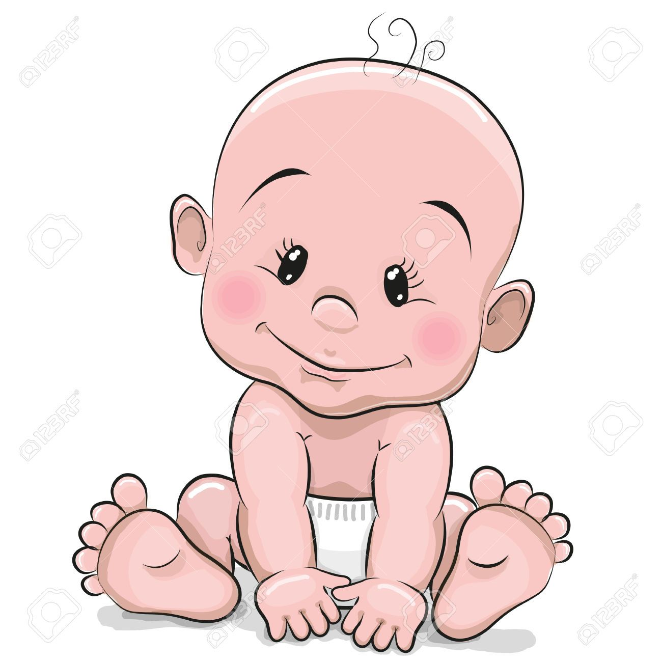 6,900 Baby Diaper Stock Vector Illustration And Royalty