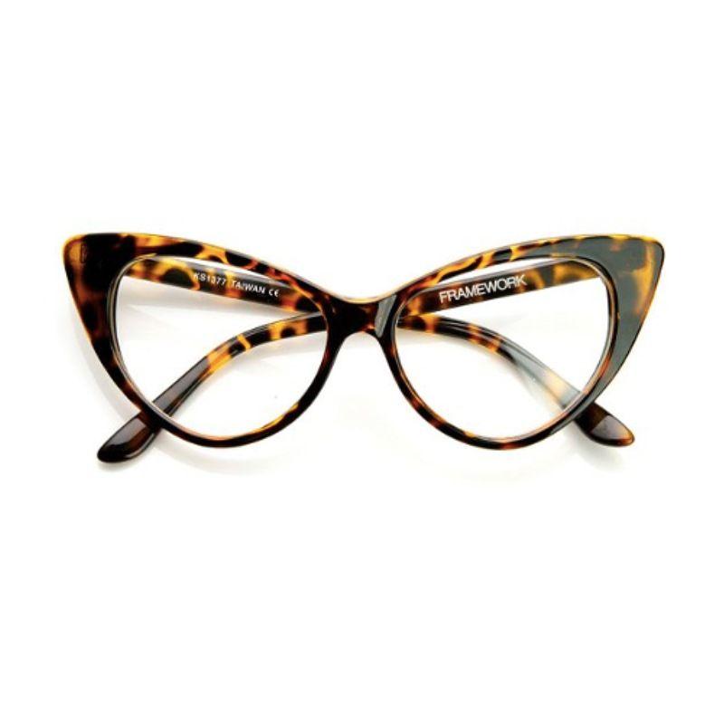 Ivy League Vanity Glasses Classic 50 S Inspired Tortoise Shell