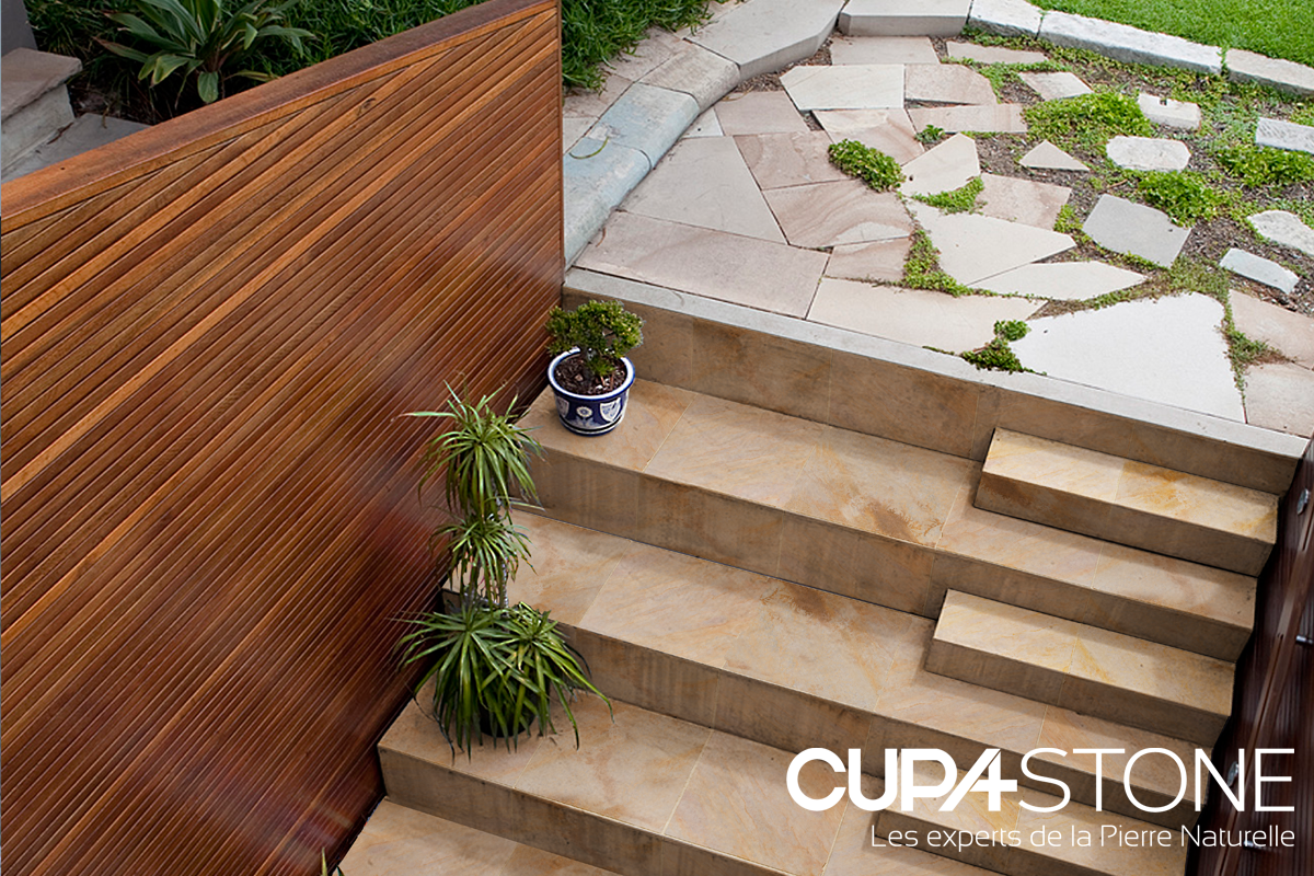 choisir des marches d escaliers en pierre naturelle c est. Black Bedroom Furniture Sets. Home Design Ideas