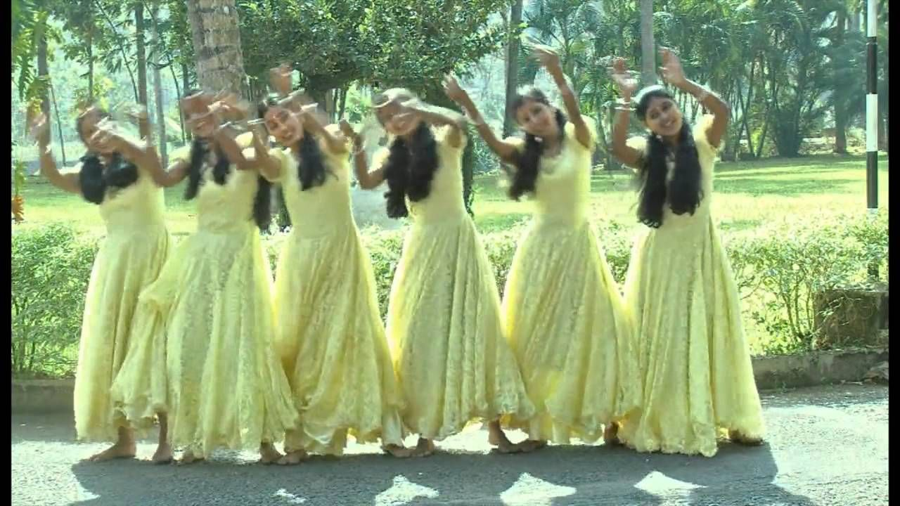 Malayalam Christian Action Song ( dance) Yeshuvinte