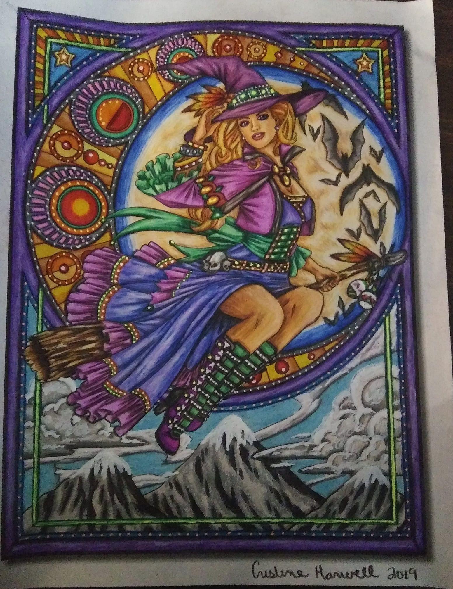 Art Nouveau Coloring Book Digital Edition Summer Coloring Pages Coloring Books Art