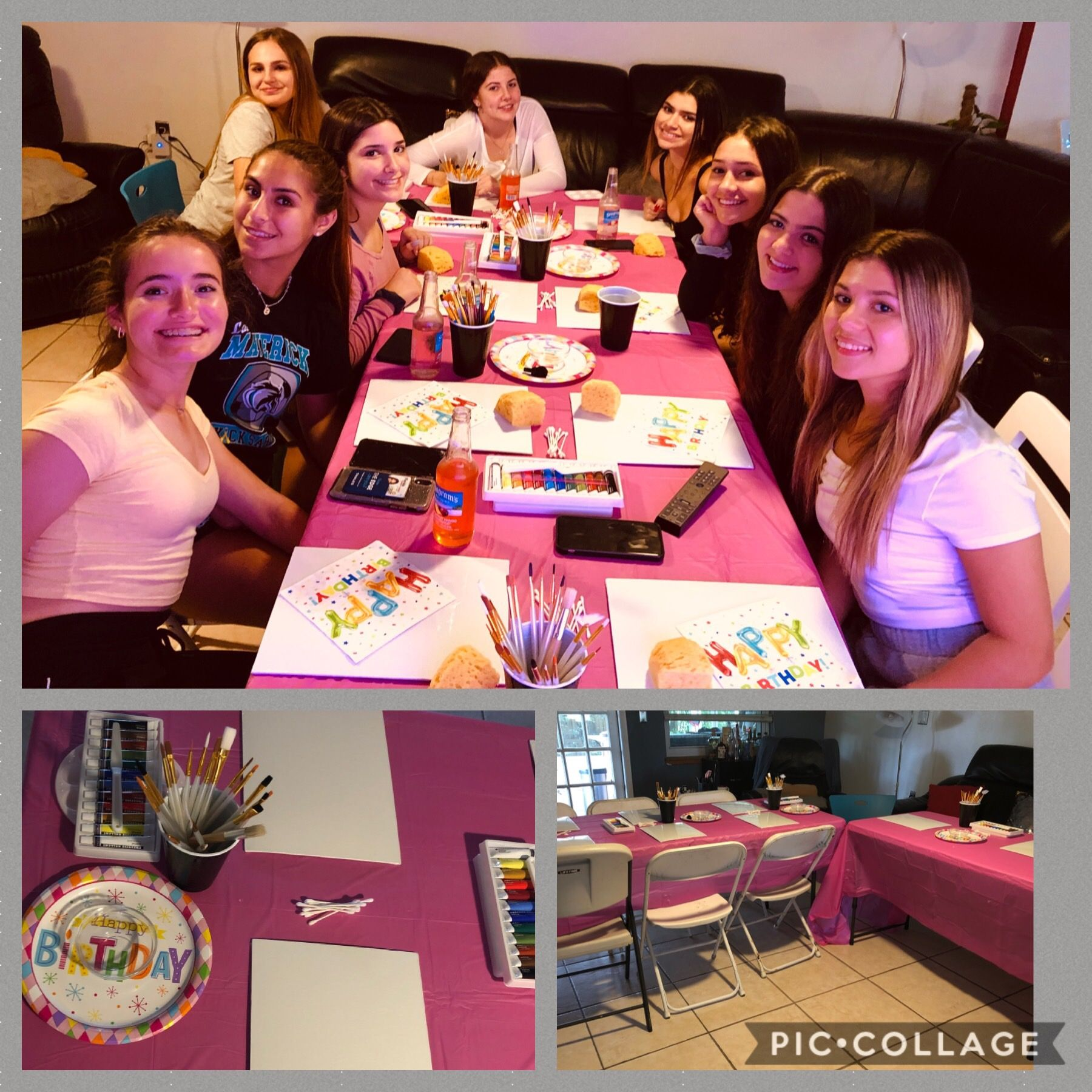 At home diy paint and sip party in 2020 with images