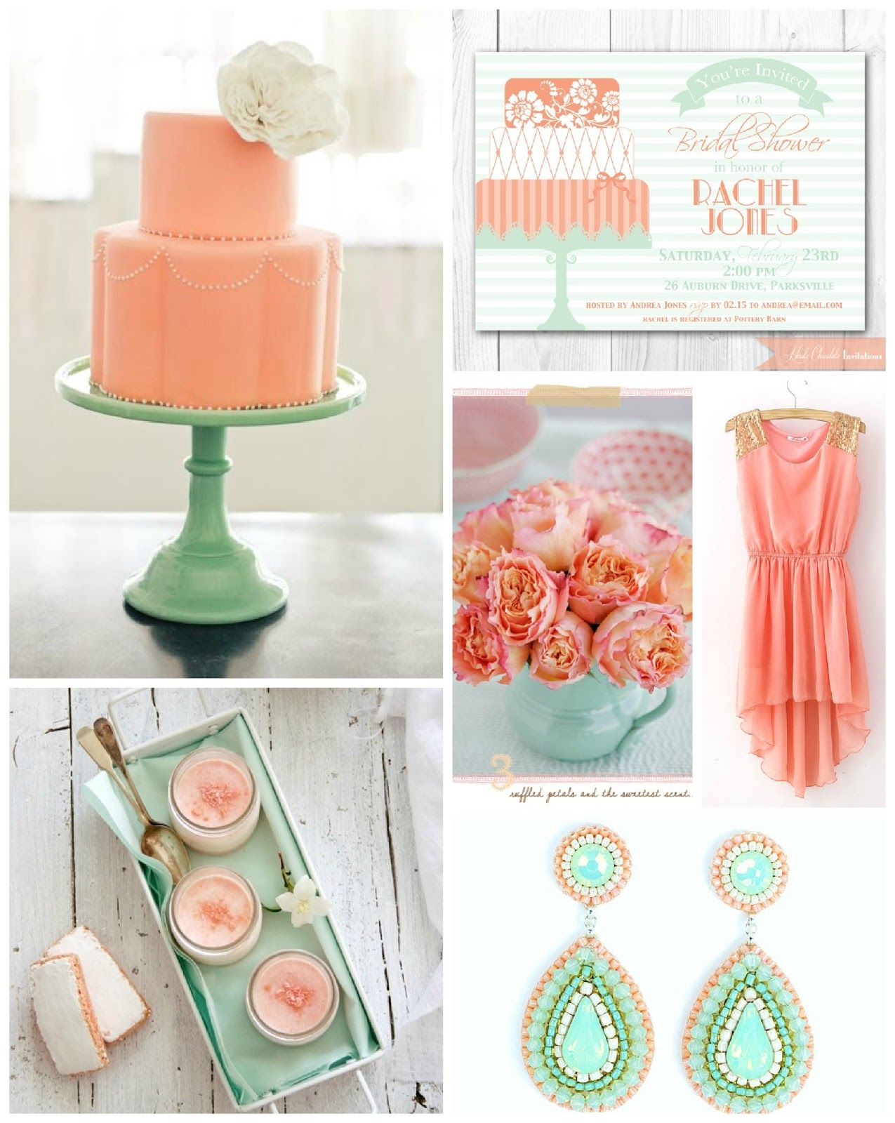 Mint to Be bridal shower. Our Top 5 Bridal Shower Themes - Wedding ...