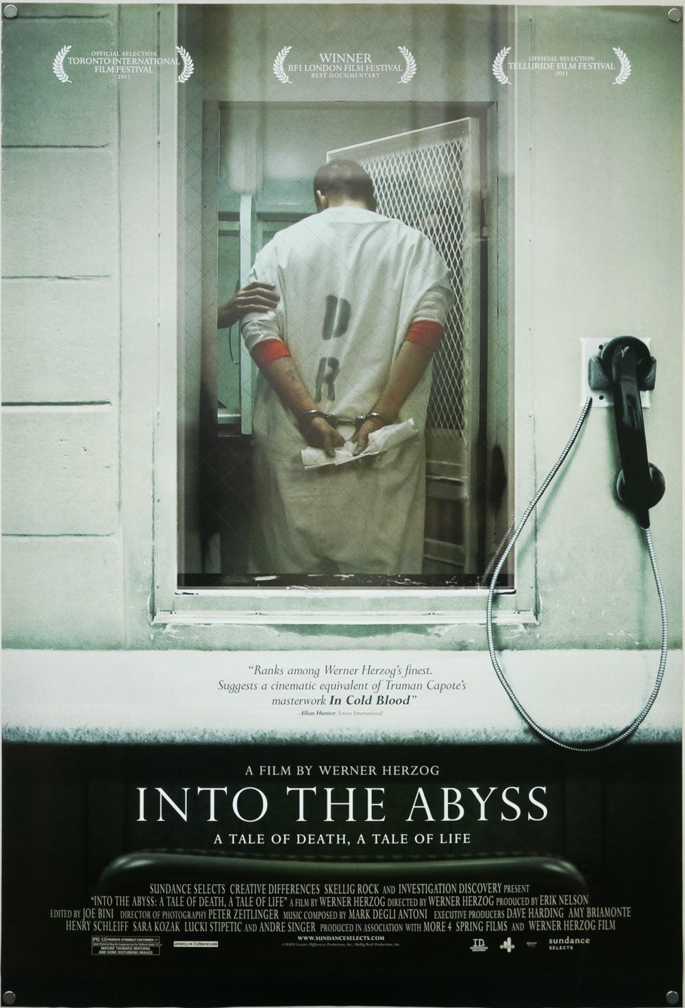 Into the Abyss / one sheet / USA