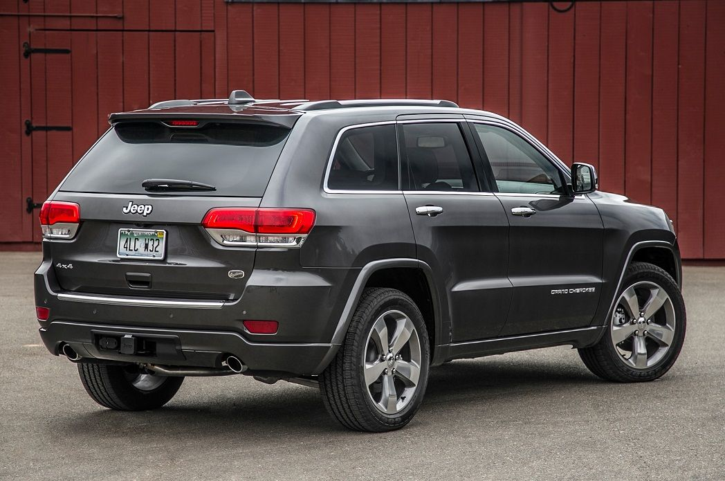 2016 Jeep Grand Cherokee Rear View Loved Machines Pinterest