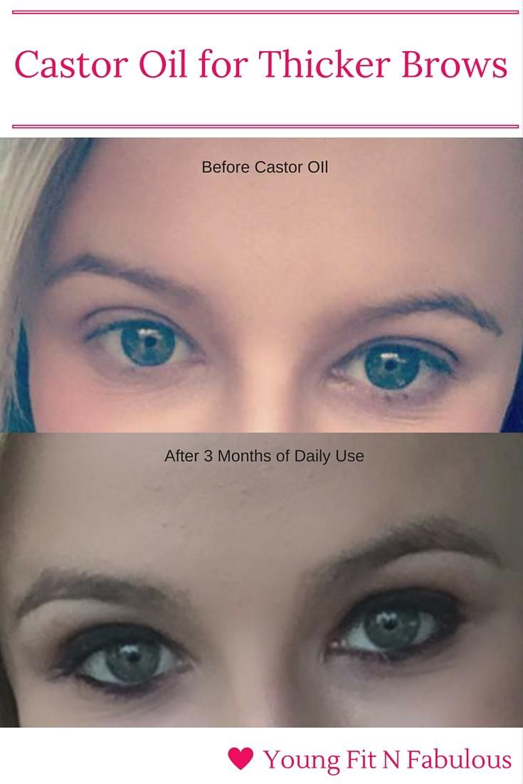 Castor Oil For Thicker Brows And Lashes Health Castor Oil
