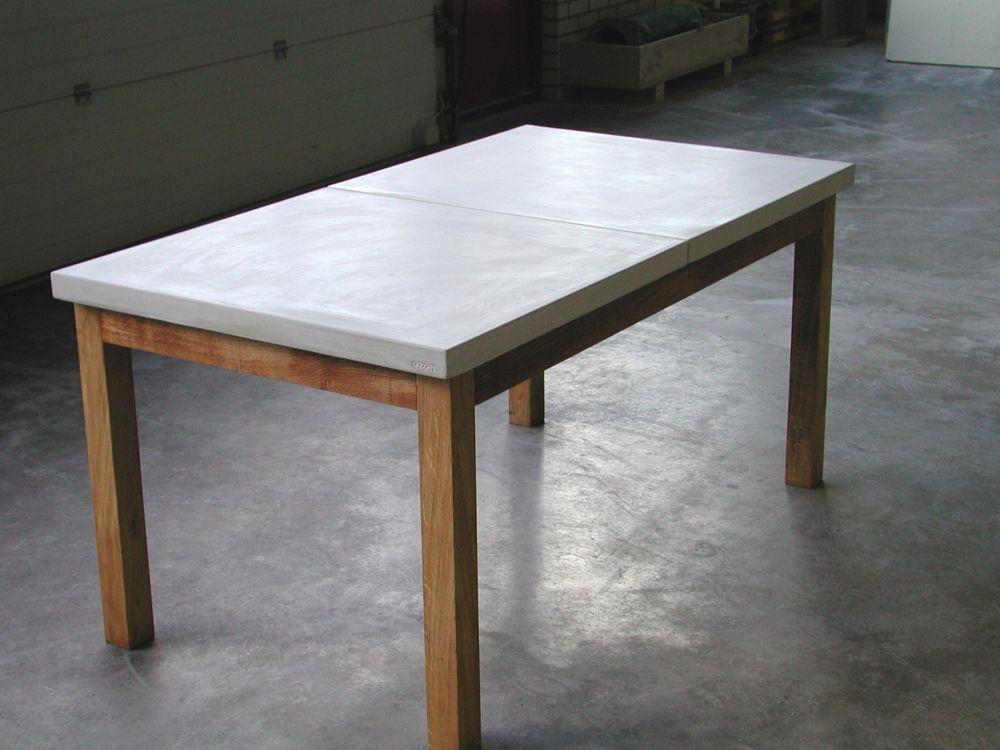 betonnen tafelblad OZON | Diversen | René Bruns Schrijnwerker