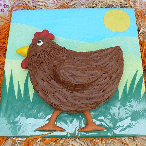 Easter Food Easter Chicken Cake