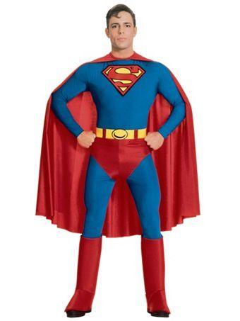 Superman Costume Wholesale SuperHero Halloween Costume for Men - 4 man halloween costume ideas