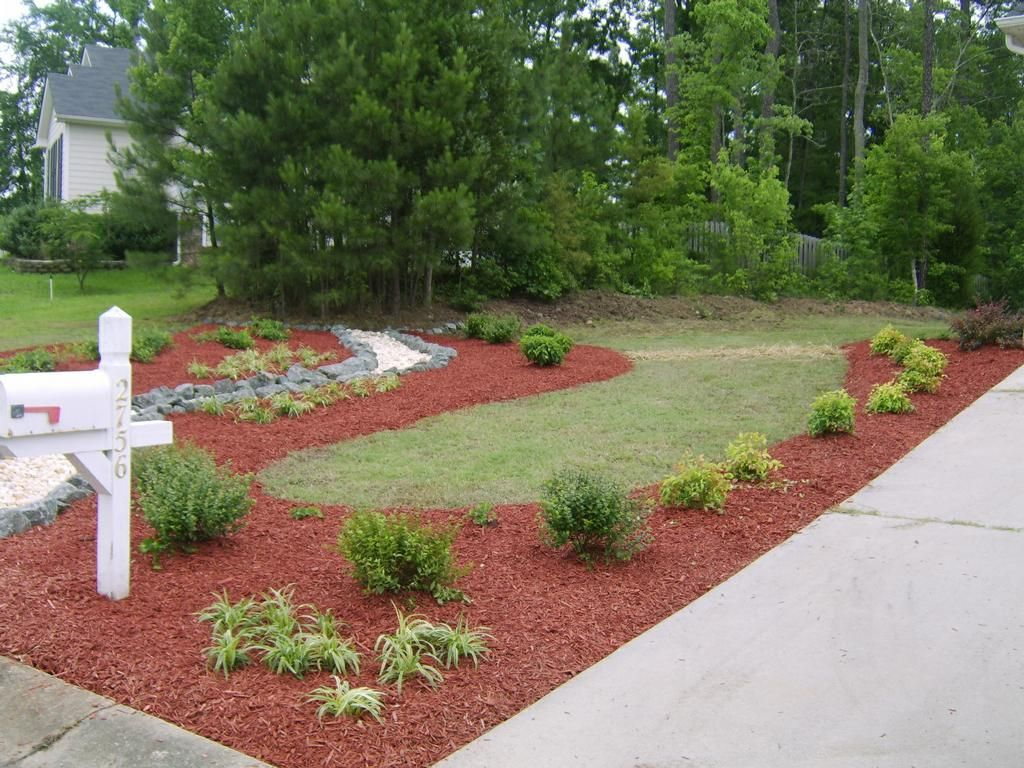 Idea For Cheap Landscaping & Idea For Cheap Landscaping | Landscaping with Your Own Hands ...