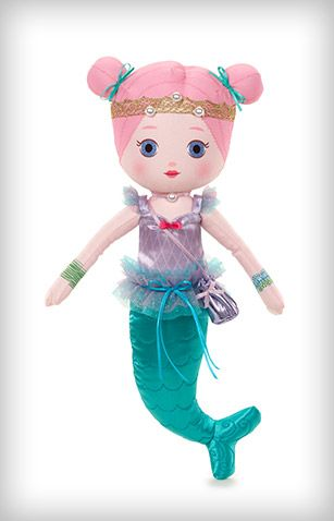 Mooshka Fairytale doll - Sonia (mermaid) | cloth dolls | Pinterest