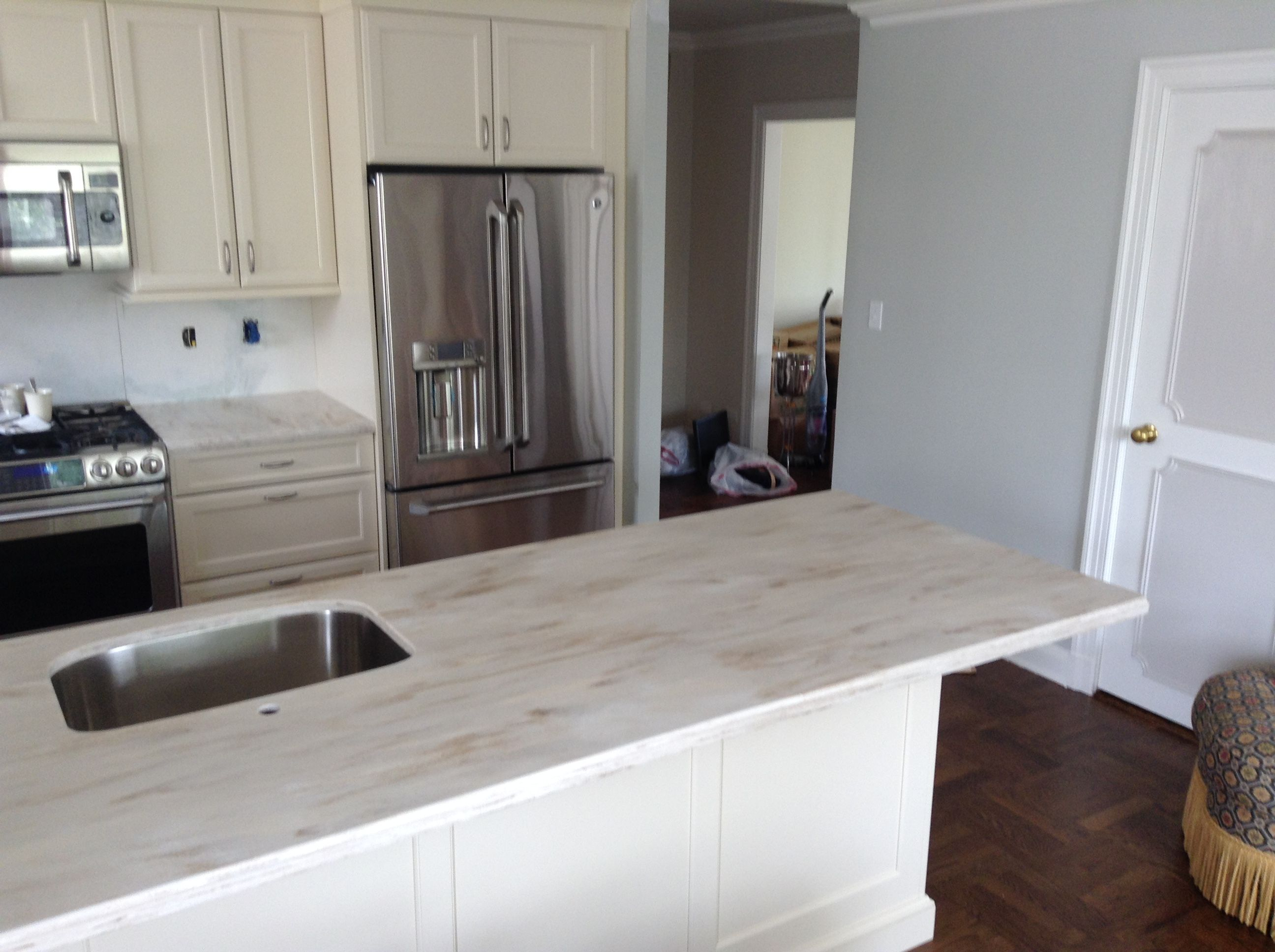 corian kitchen countertops Corian Clam Shell counters nice neutral color Kitchens Pinterest Countertops Kitchen colors and Backyards