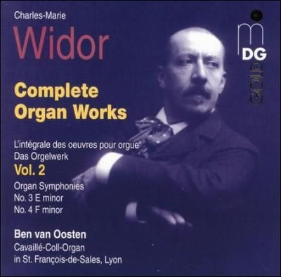 Precision Series Ben Van Oosten - Widor:Complete Organ Works Volume 2