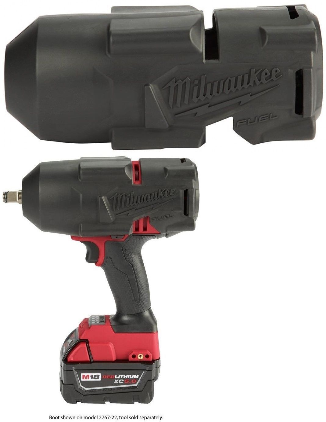 Impact Wrenches 168135: Impact Wrench Protective Rubber Boot For Use With  2767-20 2863-20 Milwaukee M18 -> BUY IT NOW ONLY: $34.98 on eBay!