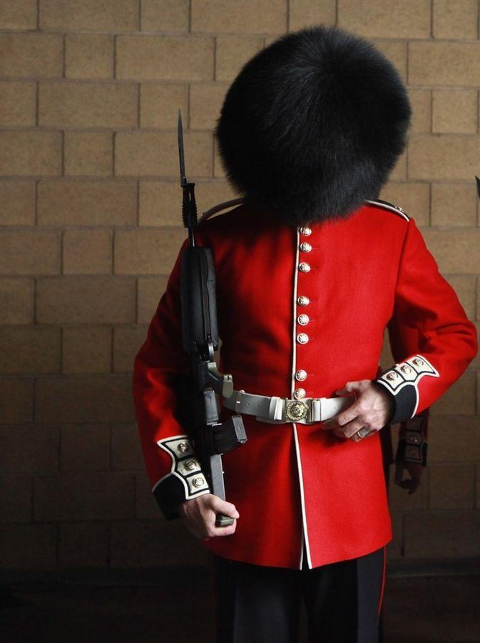 red coats and fluffy black hats the british royal guards royal