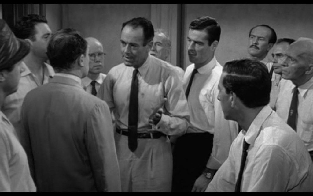 an analysis of the innocence in the 12 angry men Analysis of the film 12 angry men jason lovett mba 611 richard devos school of business management northwood university executive summary the movie twelve angry men is the ultimate example of a group of people forced to interact in order to reach a single, defined goal.