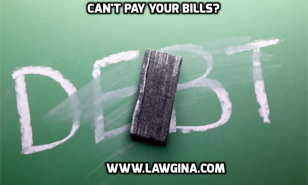 Can't Pay Your Bills or make Ends Meet? Find out your