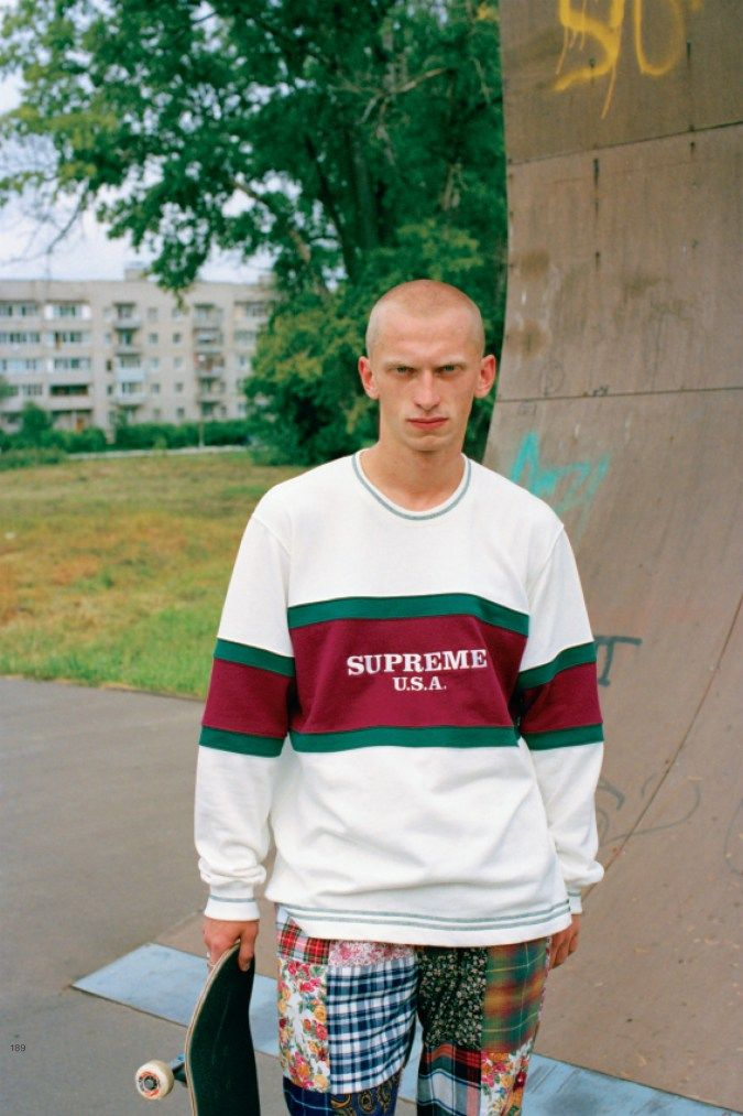 9909ad2e898295 Supreme continues to work with fashion designer Gosha Rubchinskiy when it  comes to producing editorial features for our favorite Japanese magazines.