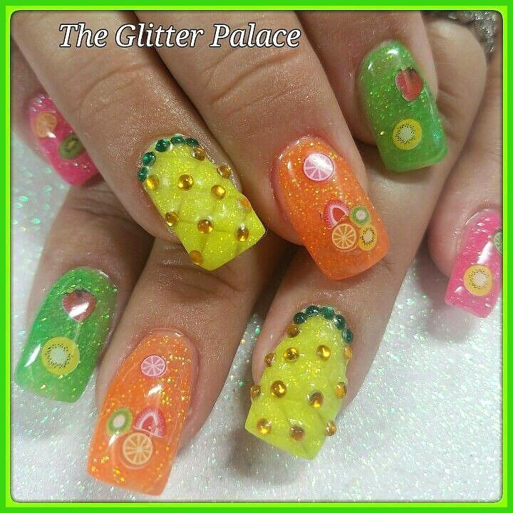 #Fruit # Nagels #Ananas #Zomer # Zomernagels Ananas Fruit Nagels, Ananas …-