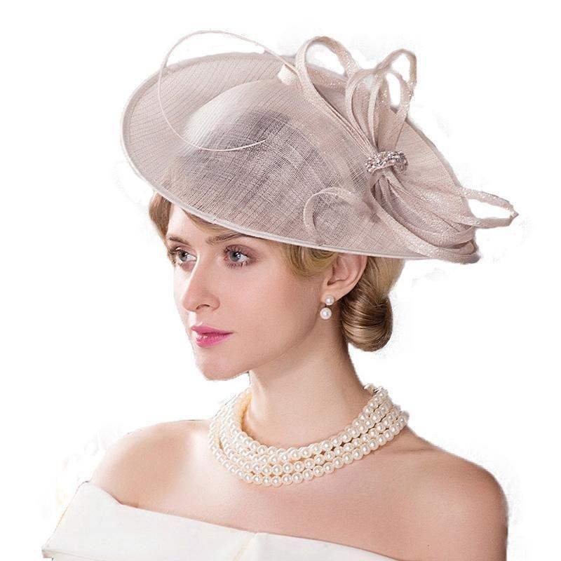 Fascinator Hat For Wedding Church Hat Fedoras  bf7f580c3b0c