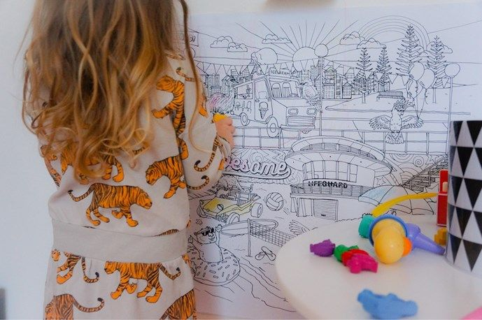 Posters para colorear para niños | Colouring Posters for kids #kidstoys