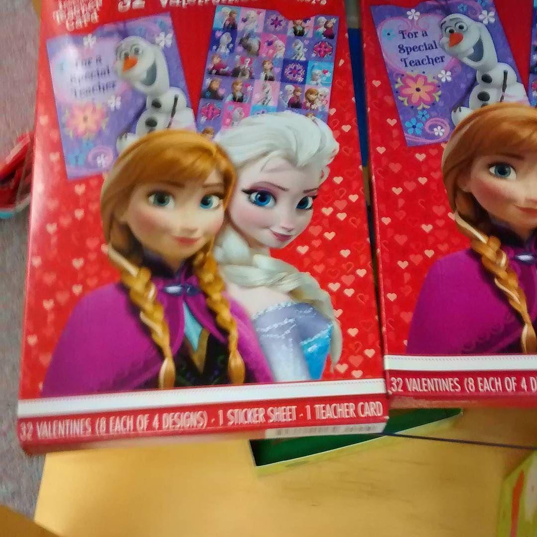 Frozen valentines anna elsa frozen forsale frozenfever