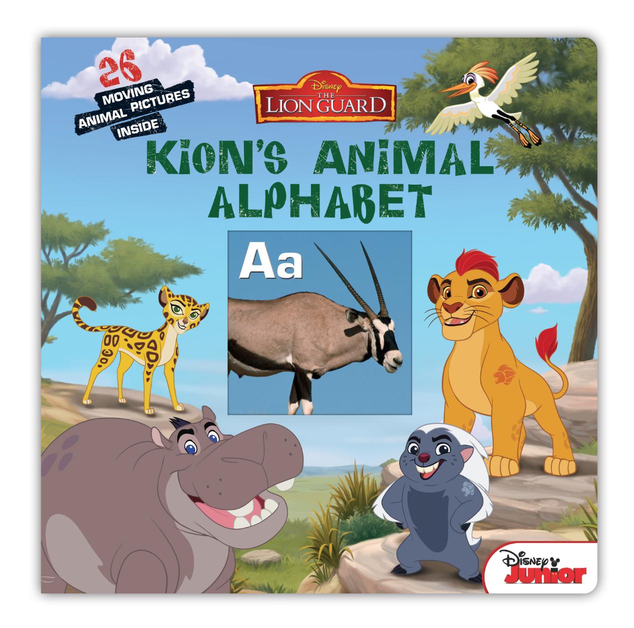 The Lion Guard: Kion's Animal Alphabet