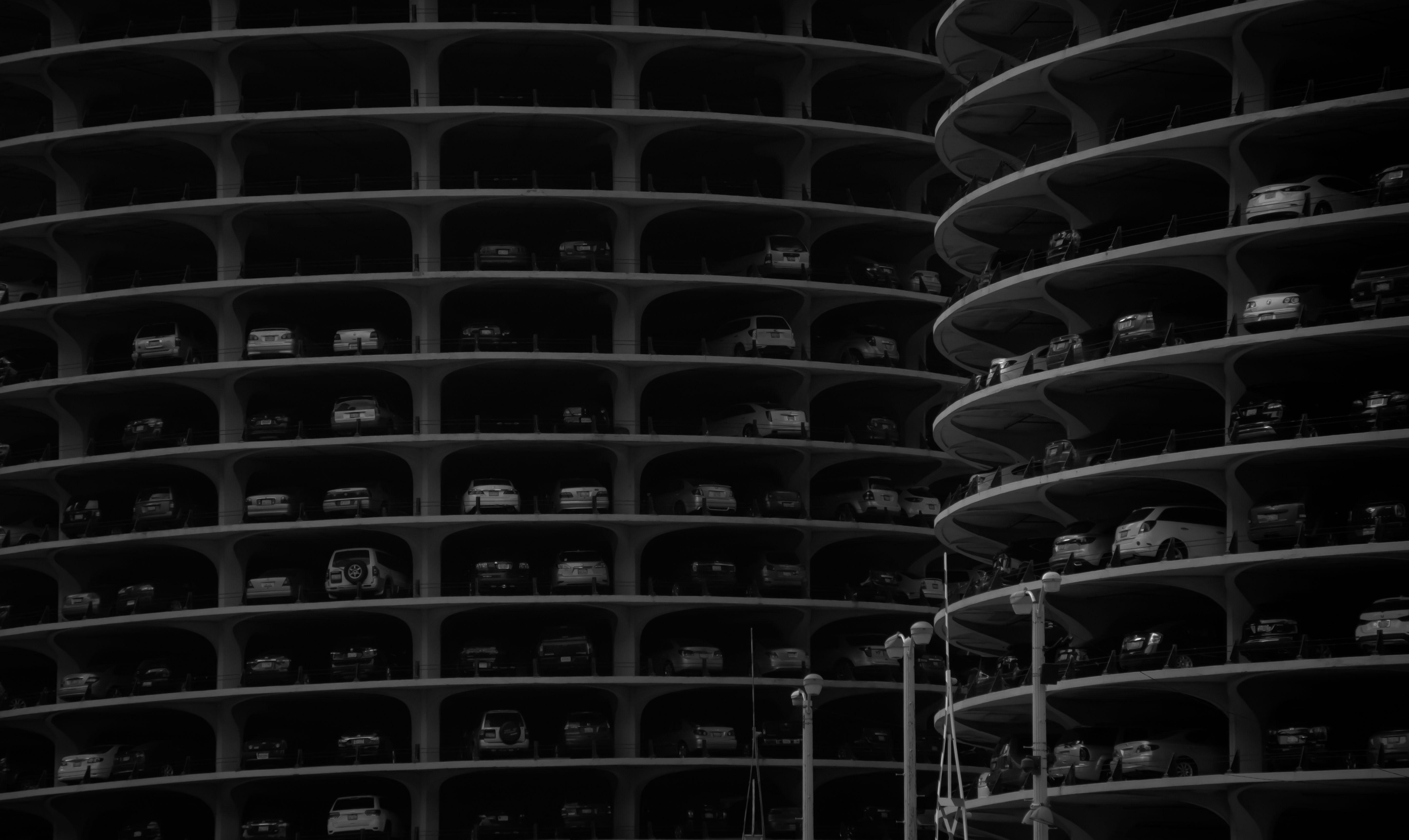 Twin Corn Cob Buildings/Marina City #Chicago